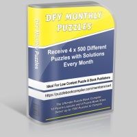 DFY Monthly Puzzles
