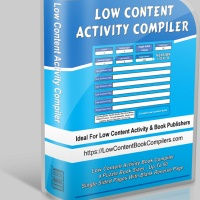 Low Content Activity Book Compiler