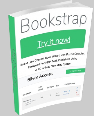 Bookstrap Low Content Book Wizard Silver